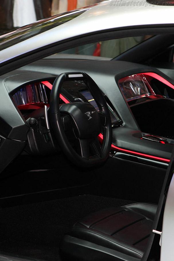 Peugeot RC Hybrid Concept    - 2008 Mondial de l'Automobile Paris