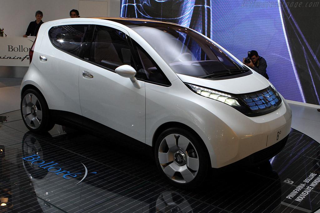 Pininfarina B Zero Concept    - 2008 Mondial de l'Automobile Paris