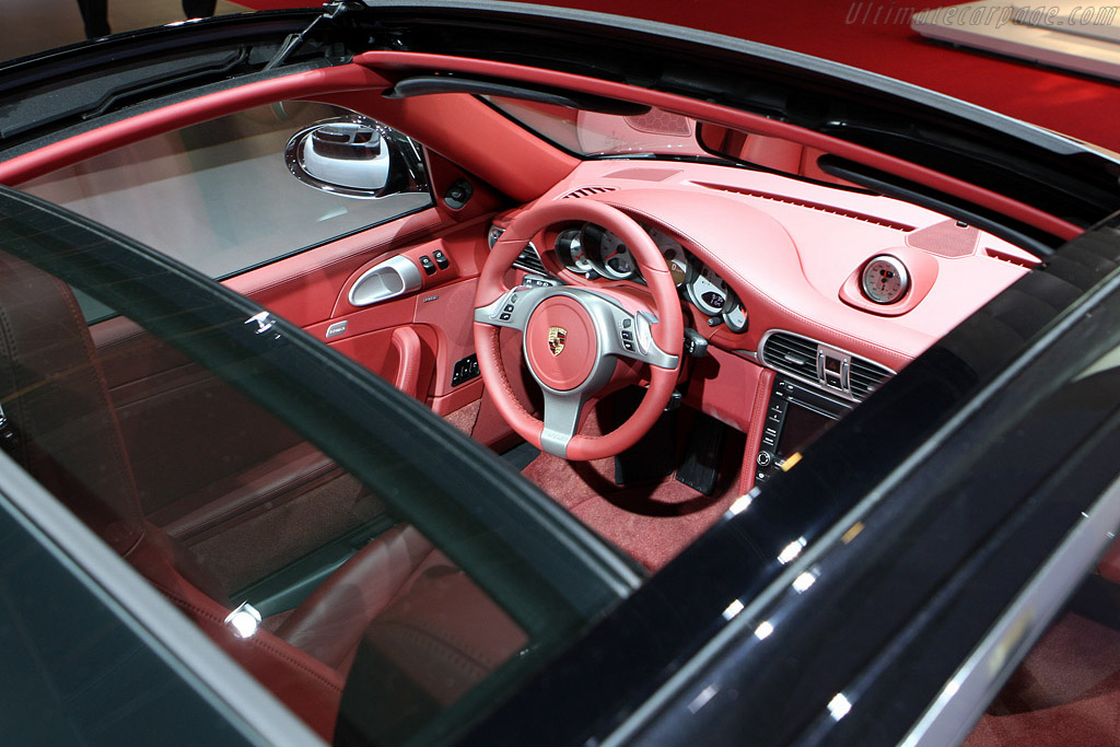 Porsche 997 Targa 4S    - 2008 Mondial de l'Automobile Paris