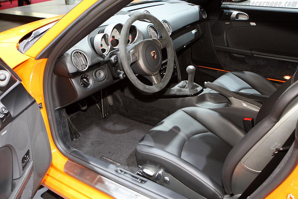 Porsche Cayman S Sport    - 2008 Mondial de l'Automobile Paris
