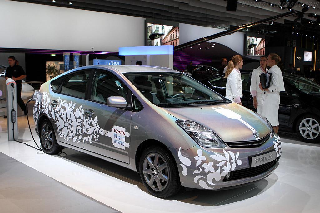 Toyota Prius Plug-in Hybrid    - 2008 Mondial de l'Automobile Paris