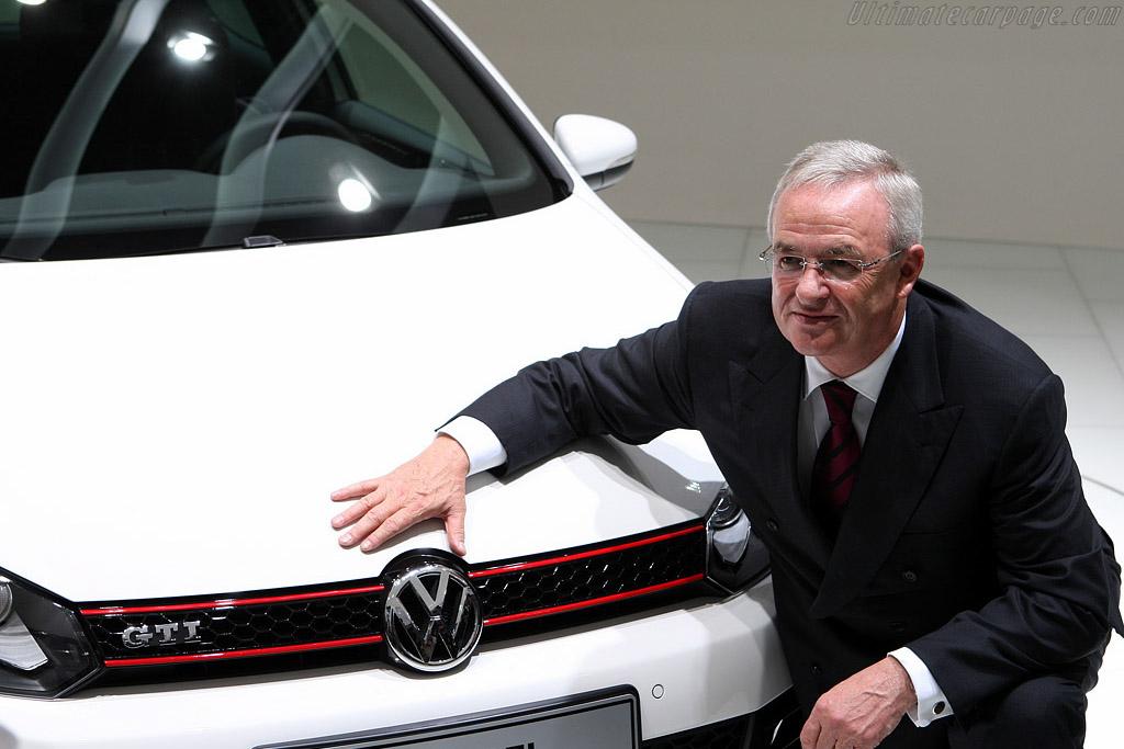 Volkswagen Chairman Martin Winterkorn    - 2008 Mondial de l'Automobile Paris