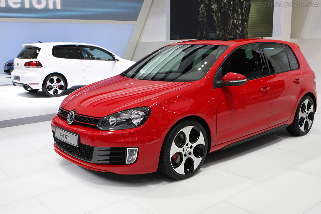 Volkswagen Golf VI GTI    - 2008 Mondial de l'Automobile Paris