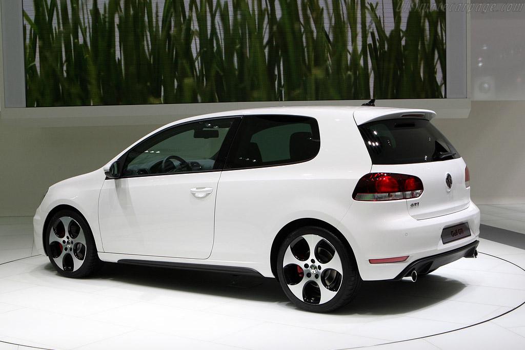 Volkswagen Golf VI GTI    - 2008 Mondial de l'Automobile Paris