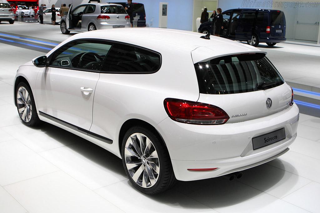Volkswagen Scirocco    - 2008 Mondial de l'Automobile Paris