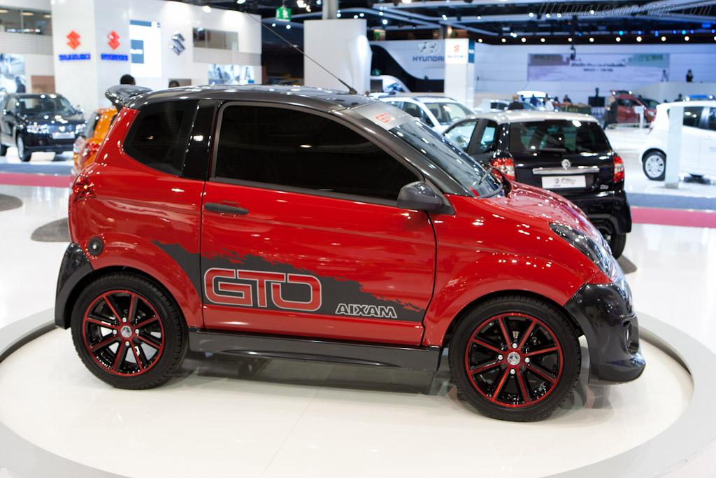 Aixam GTO    - 2010 Mondial de l'Automobile Paris