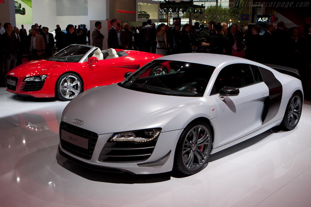 Audi R8 GT    - 2010 Mondial de l'Automobile Paris