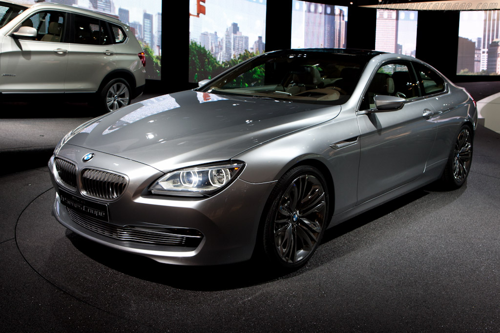 BMW 6-Series Coupe Concept    - 2010 Mondial de l'Automobile Paris
