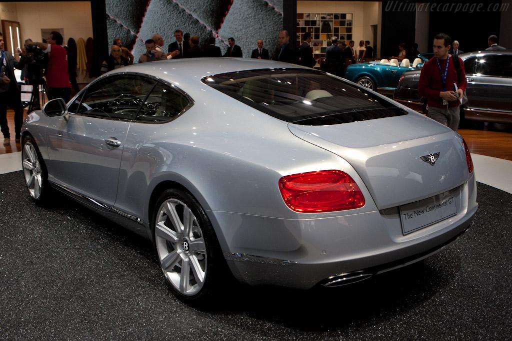 Bentley Continental GT    - 2010 Mondial de l'Automobile Paris