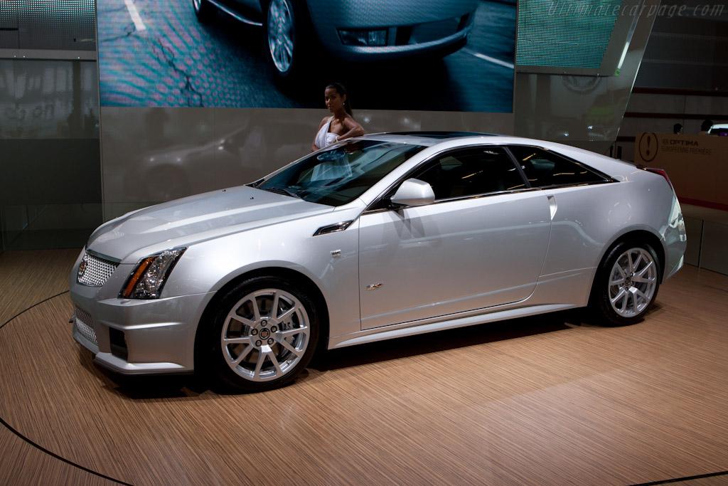 Cadillac CTS-V    - 2010 Mondial de l'Automobile Paris