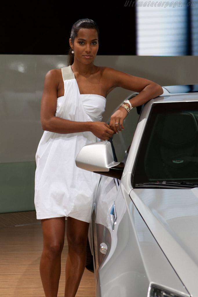 Cadillac cts v 2010 mondial de l 39 automobile paris