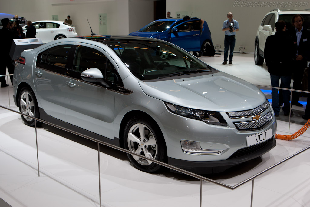 Chevrolet Volt    - 2010 Mondial de l'Automobile Paris