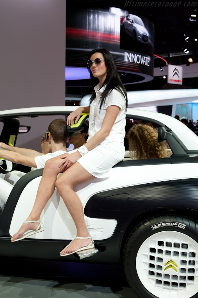 Citroën Lacoste Concept    - 2010 Mondial de l'Automobile Paris