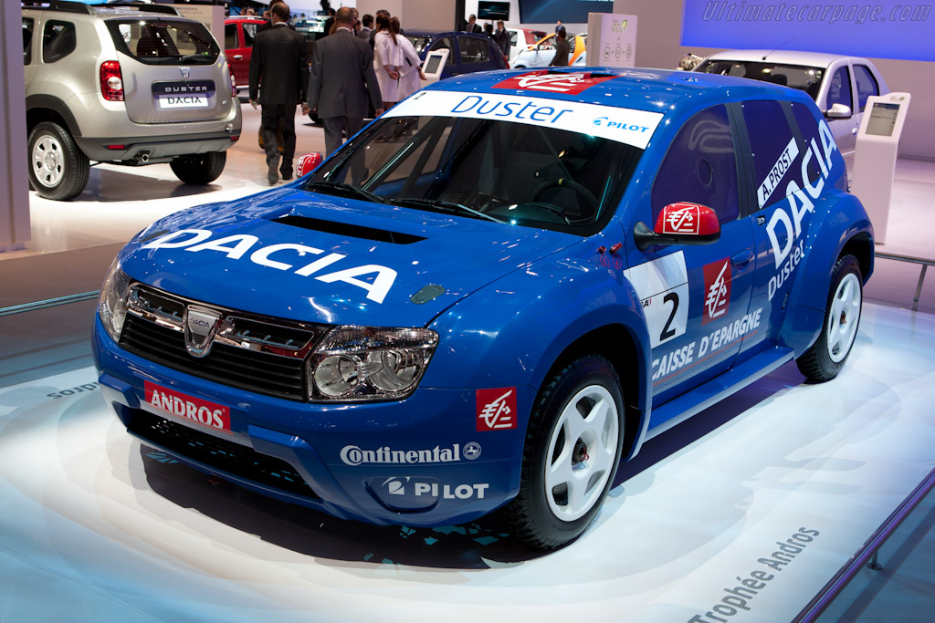 Dacia Duster Andros Trophy    - 2010 Mondial de l'Automobile Paris