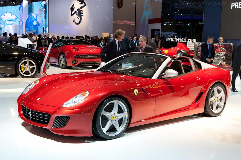 Ferrari 599 SA Aperta    - 2010 Mondial de l'Automobile Paris