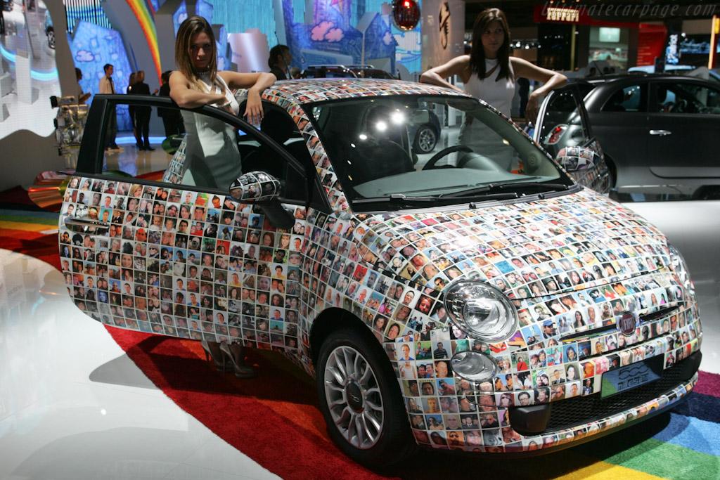 Fiat 500 Millesima    - 2010 Mondial de l'Automobile Paris