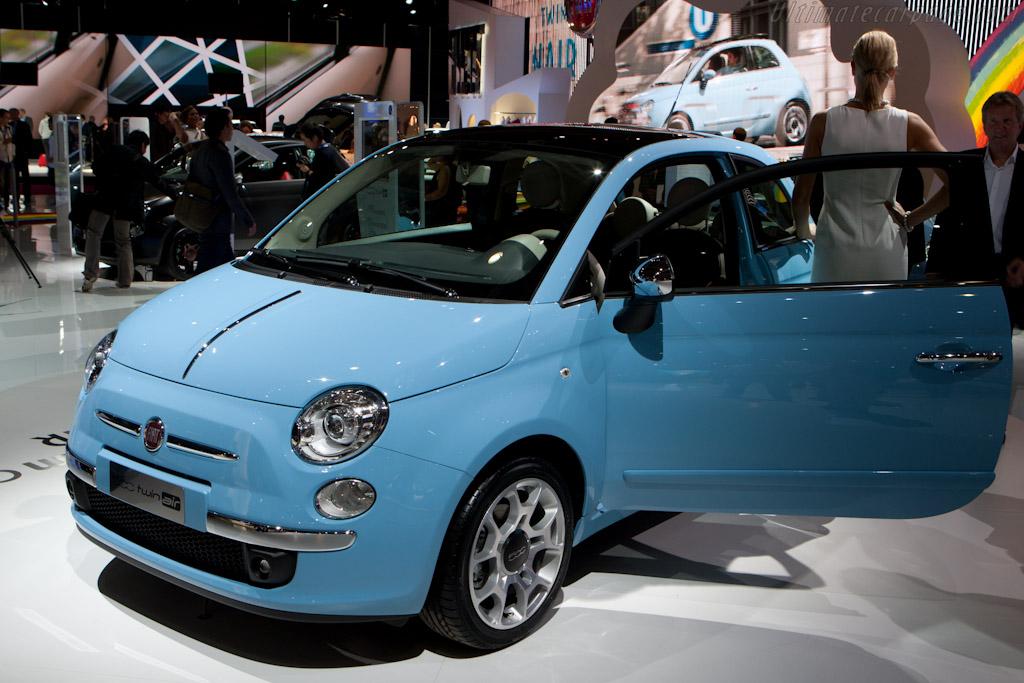 Fiat 500 Twin Air    - 2010 Mondial de l'Automobile Paris
