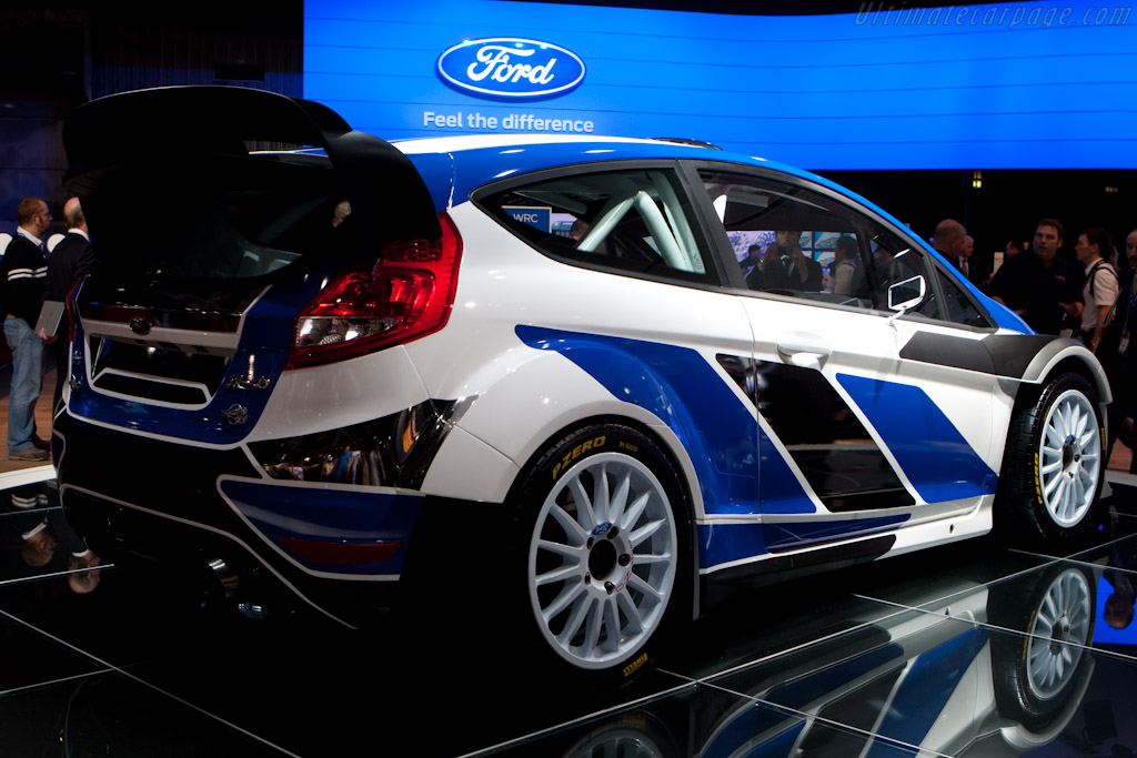 Ford Fiesta RS WRC    - 2010 Mondial de l'Automobile Paris