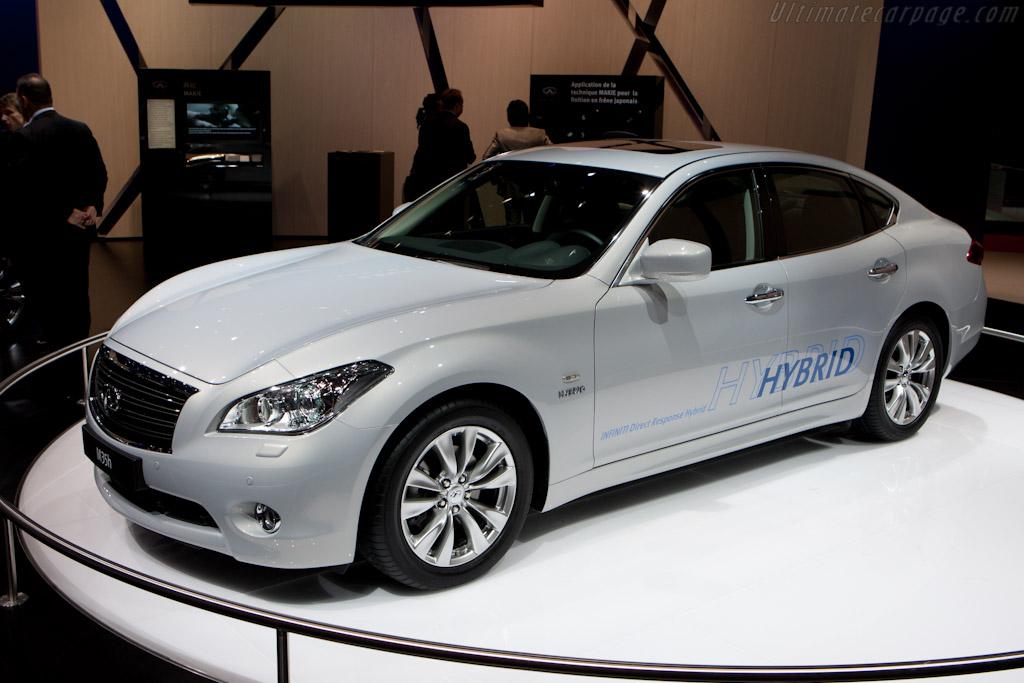 Infiniti M35h    - 2010 Mondial de l'Automobile Paris