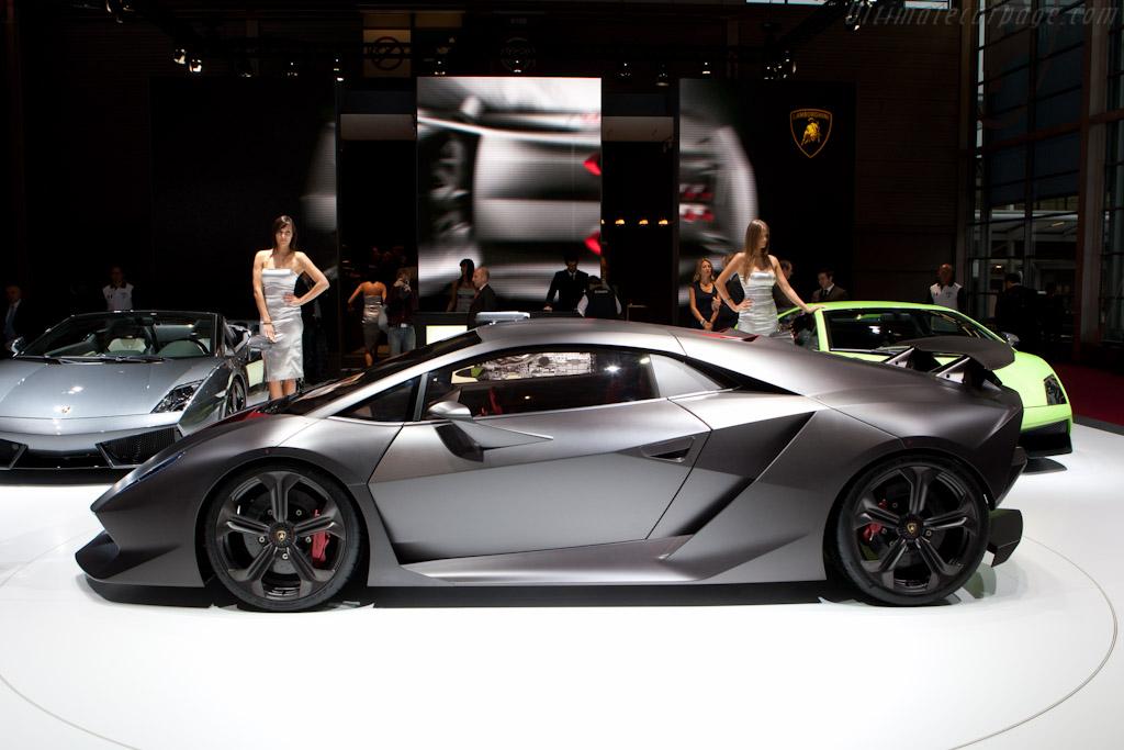 Lamborghini Sesto Elemento    - 2010 Mondial de l'Automobile Paris