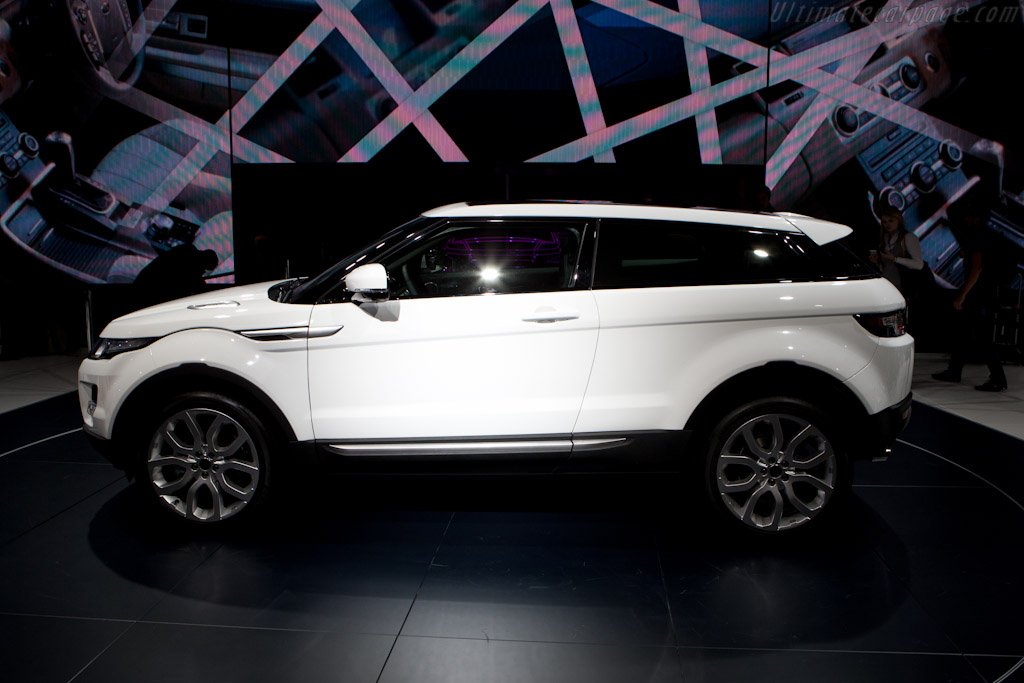 Land Rover Evoque    - 2010 Mondial de l'Automobile Paris