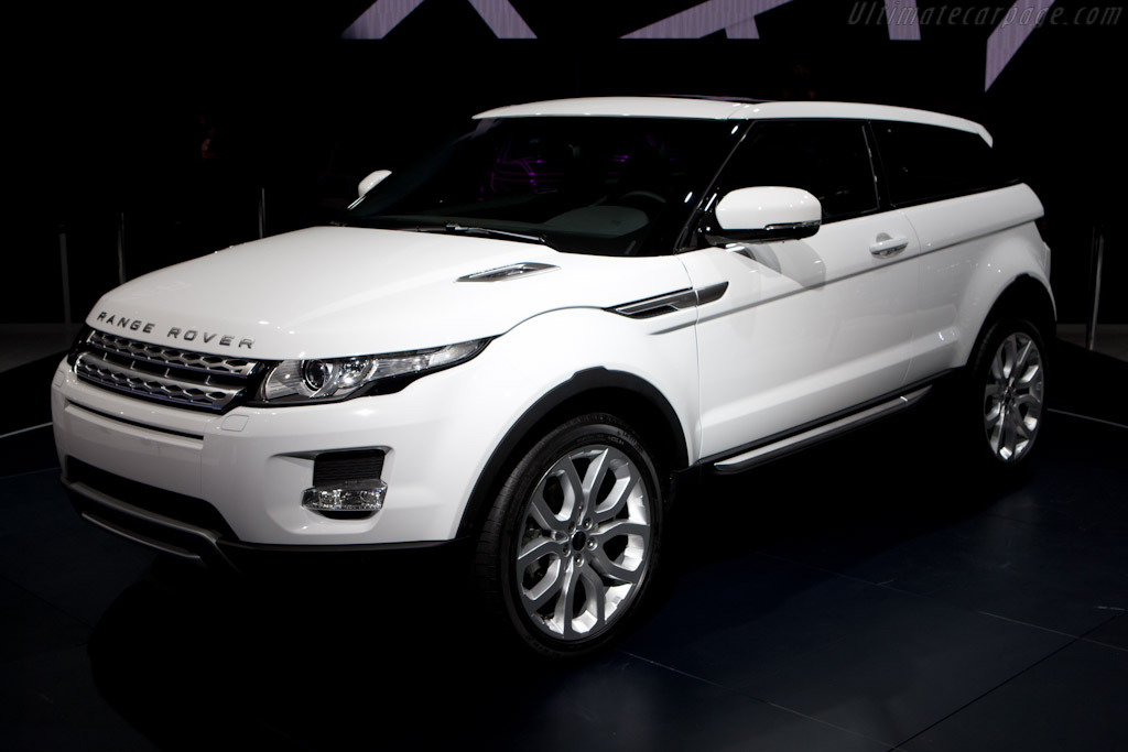 Land Rover Evoque 2010 Mondial De L Automobile Paris