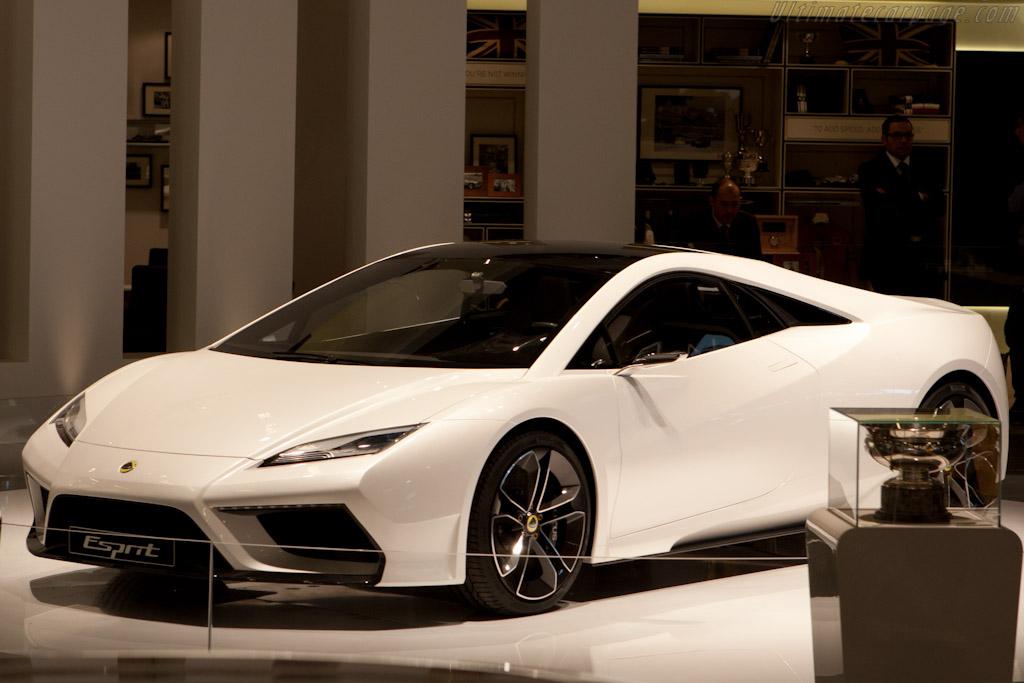 Lotus Esprit    - 2010 Mondial de l'Automobile Paris