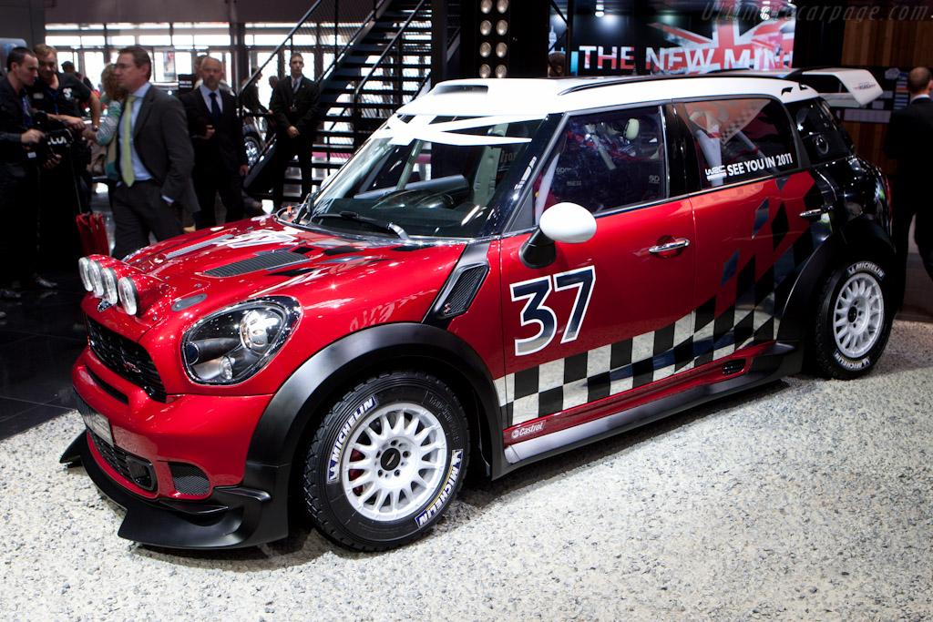 MINI Clubman WRC    - 2010 Mondial de l'Automobile Paris