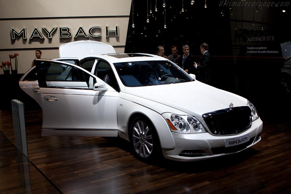 Maybach 57 S    - 2010 Mondial de l'Automobile Paris