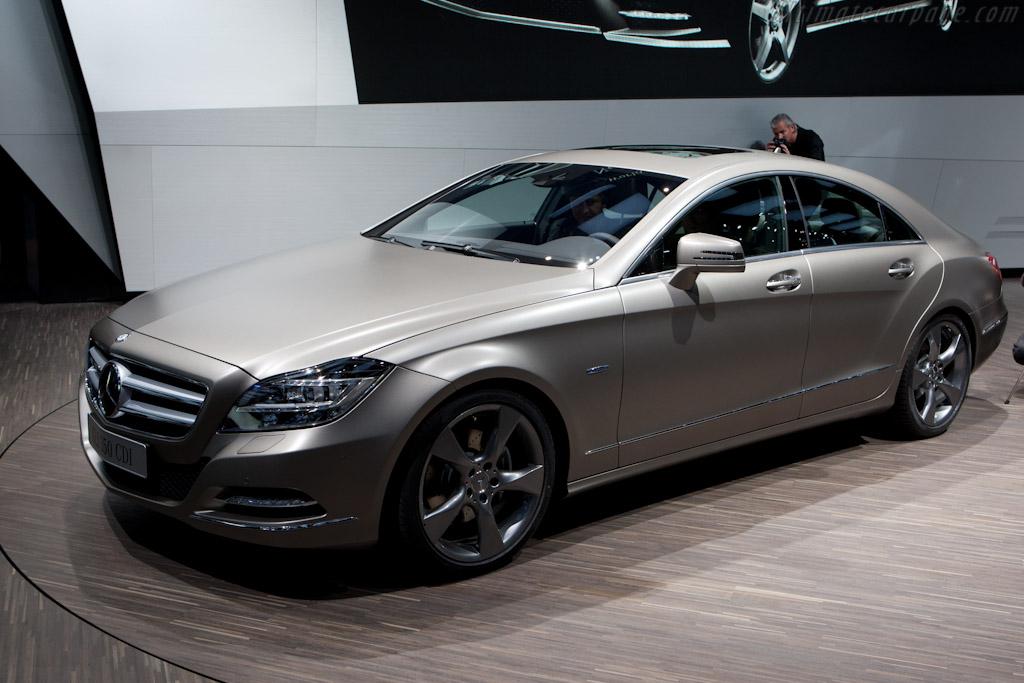 Mercedes-Benz CLS    - 2010 Mondial de l'Automobile Paris