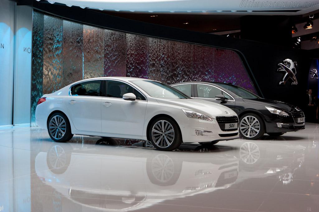Peugeot 508    - 2010 Mondial de l'Automobile Paris