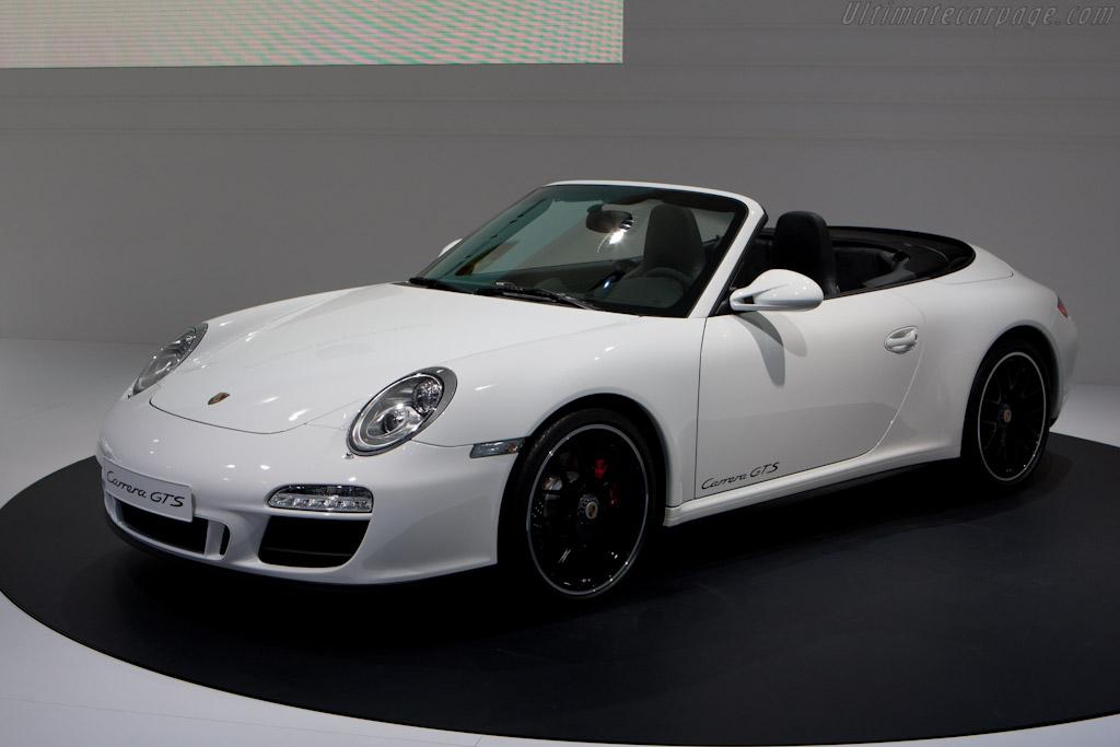 Porsche 997 GTS    - 2010 Mondial de l'Automobile Paris