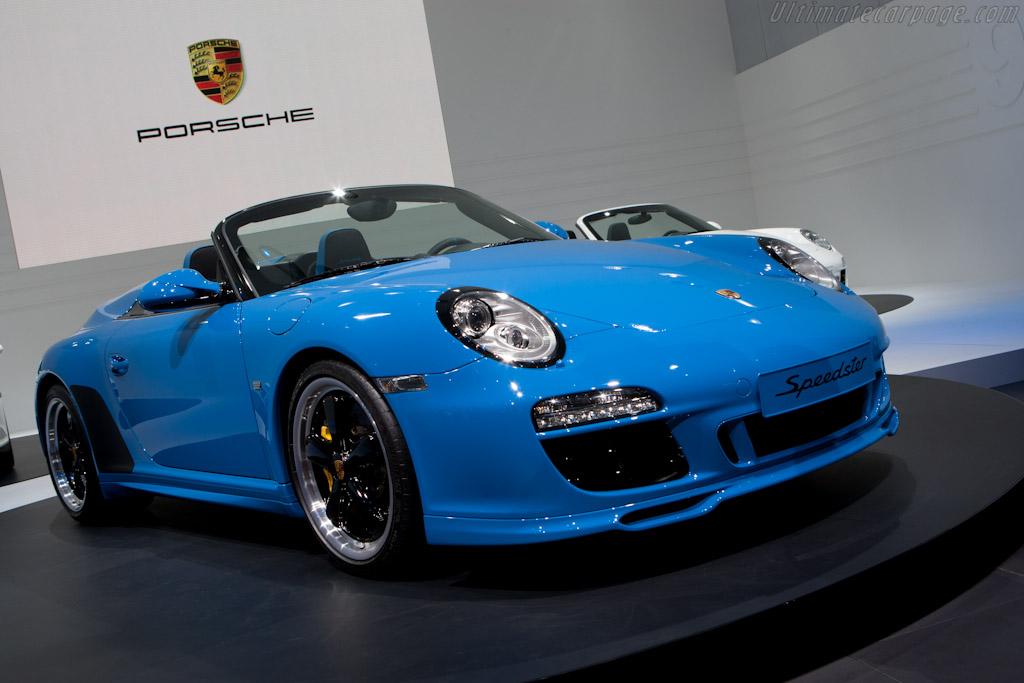 Porsche 997 Speedster    - 2010 Mondial de l'Automobile Paris