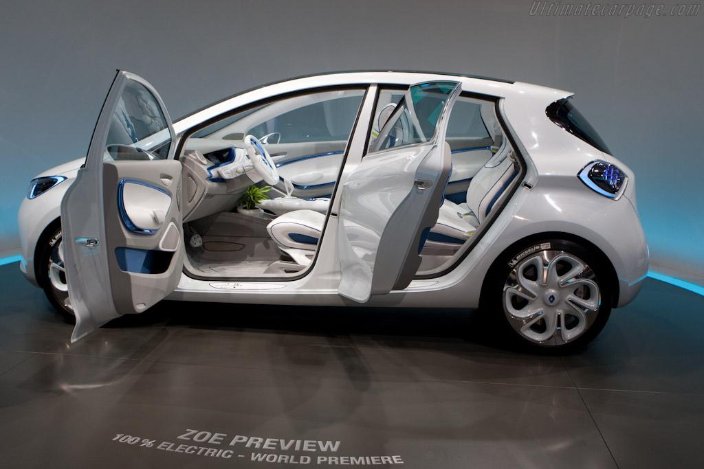 Renault Zoe Concept    - 2010 Mondial de l'Automobile Paris