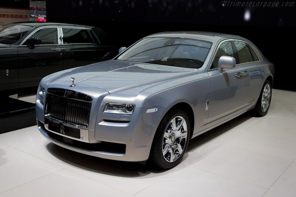 Rolls-Royce Ghost    - 2010 Mondial de l'Automobile Paris