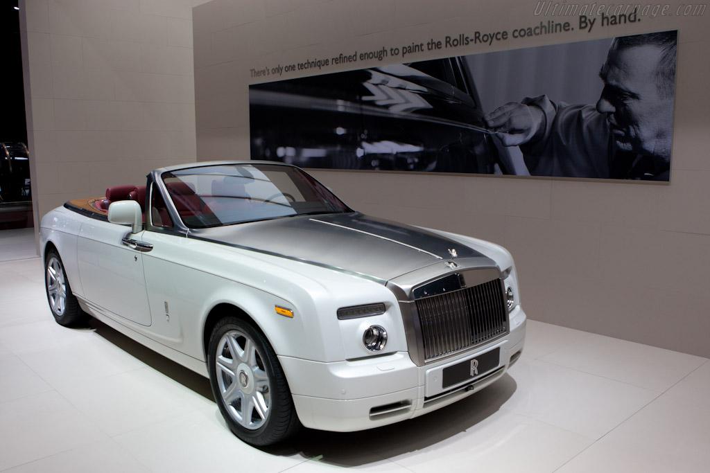 Rolls-Royce Phantom DHC    - 2010 Mondial de l'Automobile Paris