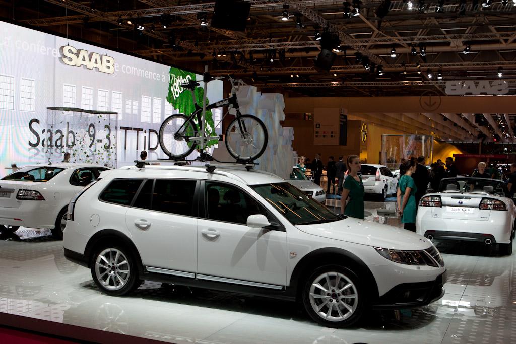 Saab 9-3    - 2010 Mondial de l'Automobile Paris