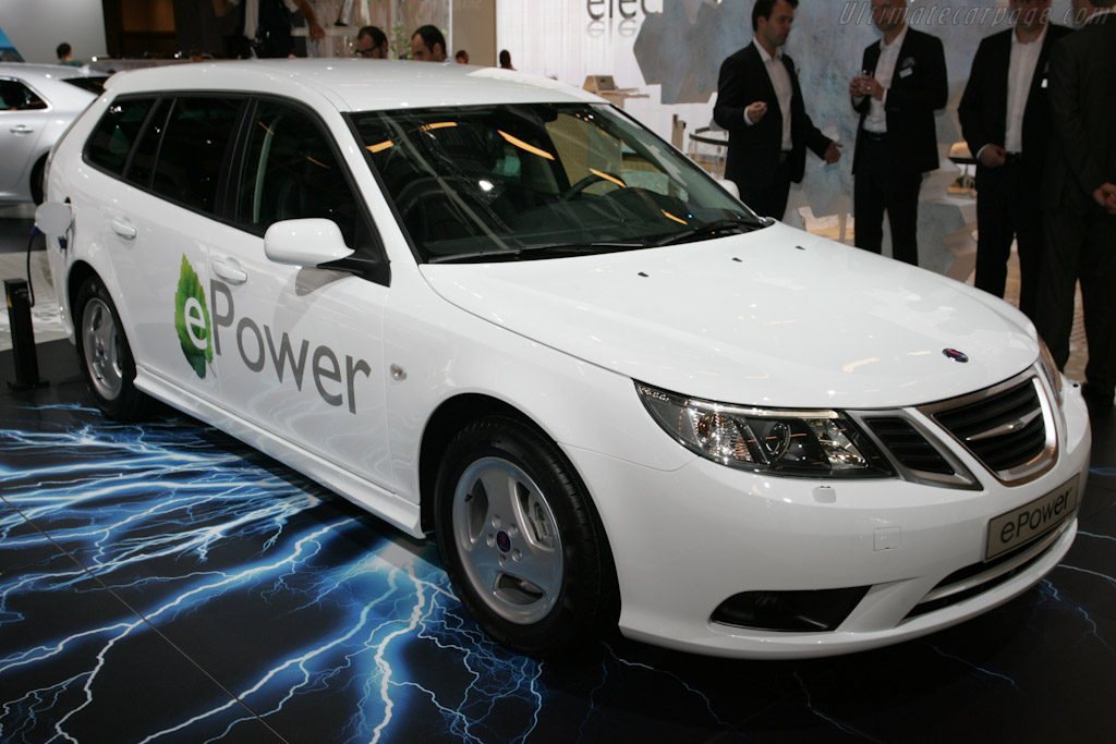 Saab 9-3 Electric    - 2010 Mondial de l'Automobile Paris