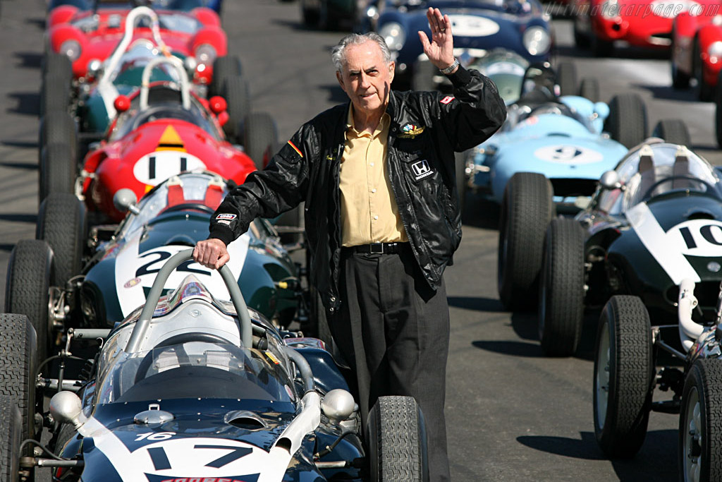A warm welcome from Sir Jack Brabham    - 2006 Monterey Historic Automobile Races