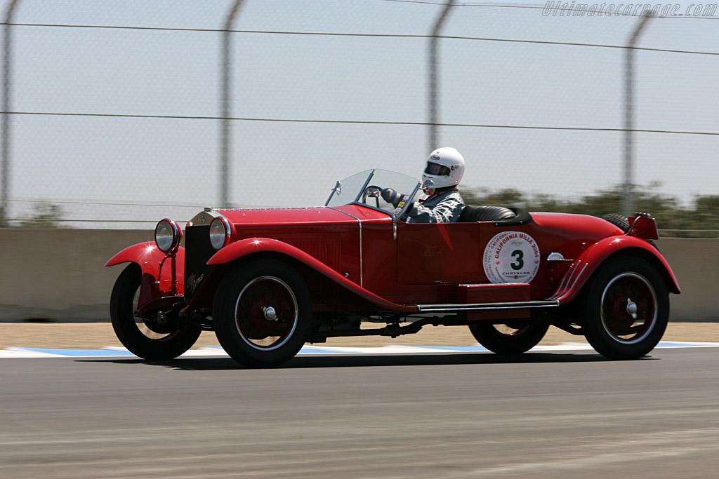 Alfa Romeo 6C 1500    - 2006 Monterey Historic Automobile Races