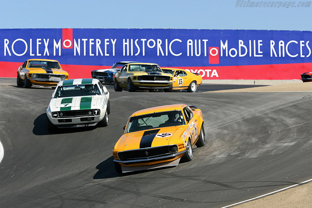 American Muscle    - 2006 Monterey Historic Automobile Races