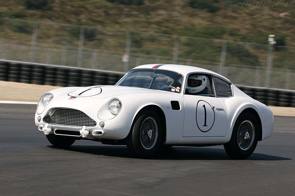 Aston Martin DB4 GT Zagato - Chassis: DB4GT/0180/L - Driver: Tom Price  - 2006 Monterey Historic Automobile Races
