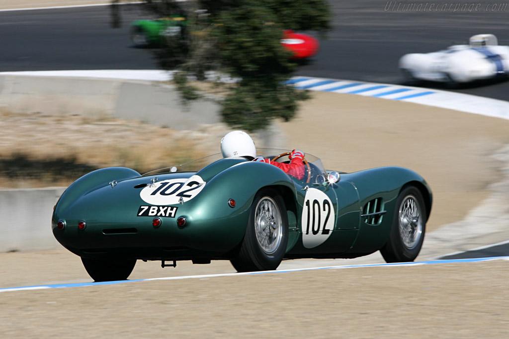Aston Martin DBR2 - Chassis: DBR2/2 - Driver: Greg Whitten  - 2006 Monterey Historic Automobile Races