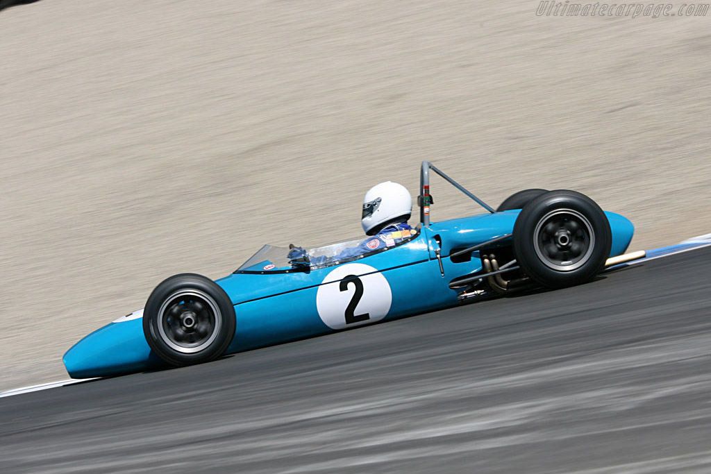 Brabham BT2 Formula Jnr    - 2006 Monterey Historic Automobile Races