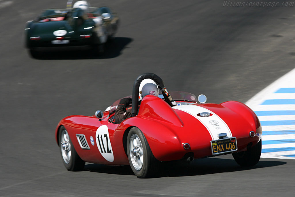 Byers MGA Special    - 2006 Monterey Historic Automobile Races