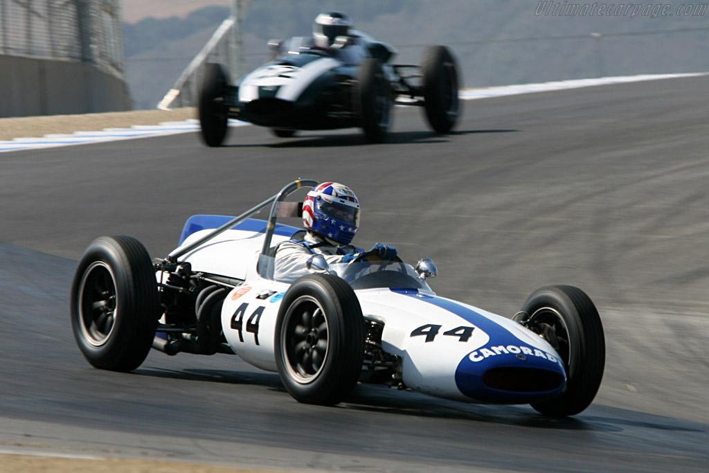 Cooper T53 F1    - 2006 Monterey Historic Automobile Races