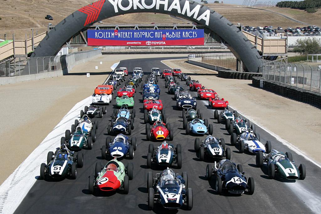 Coopers    - 2006 Monterey Historic Automobile Races