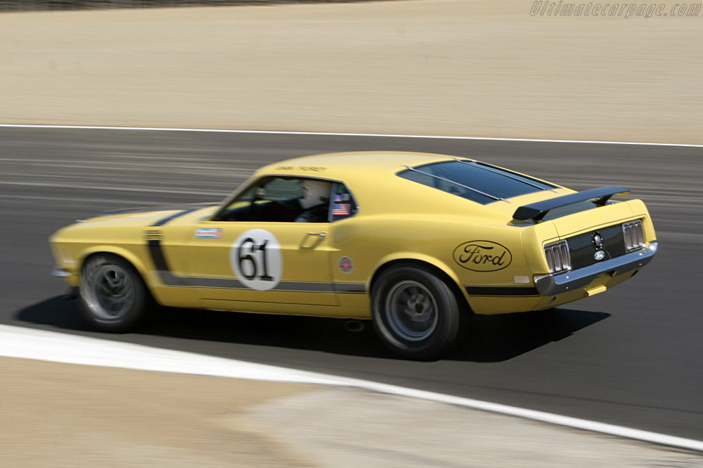 Ford Mustang BOSS 302    - 2006 Monterey Historic Automobile Races
