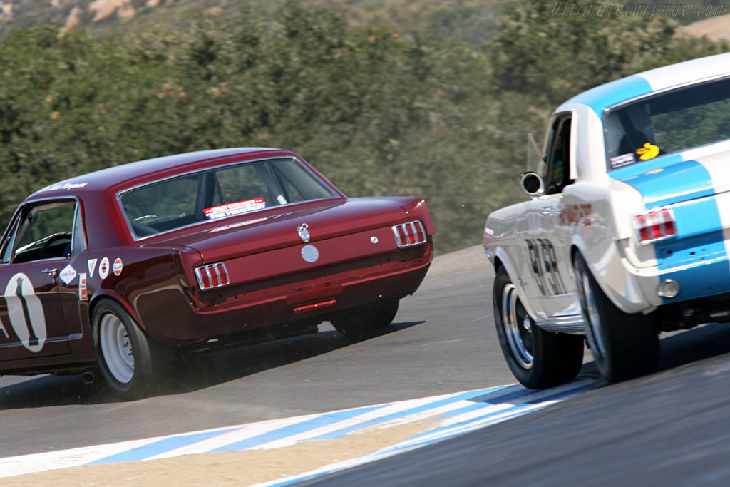 Ford Shelby Mustang GT350    - 2006 Monterey Historic Automobile Races