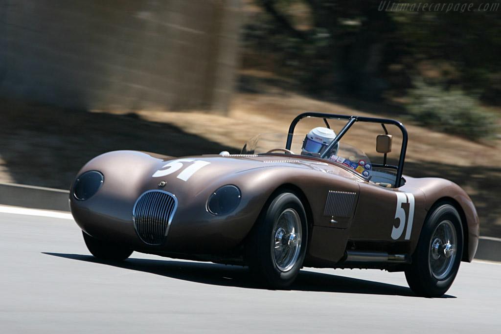 Jaguar C-Type    - 2006 Monterey Historic Automobile Races